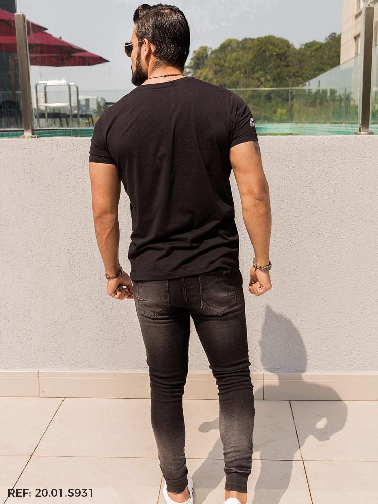 Calça masculina jogging