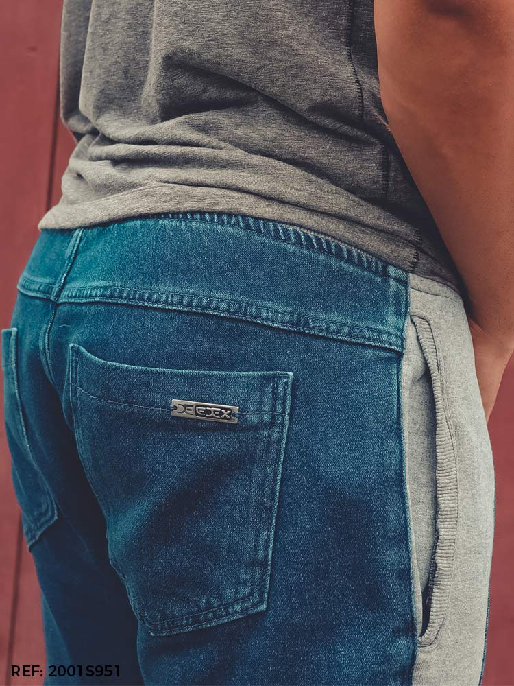 Calça masculina jogging flirt