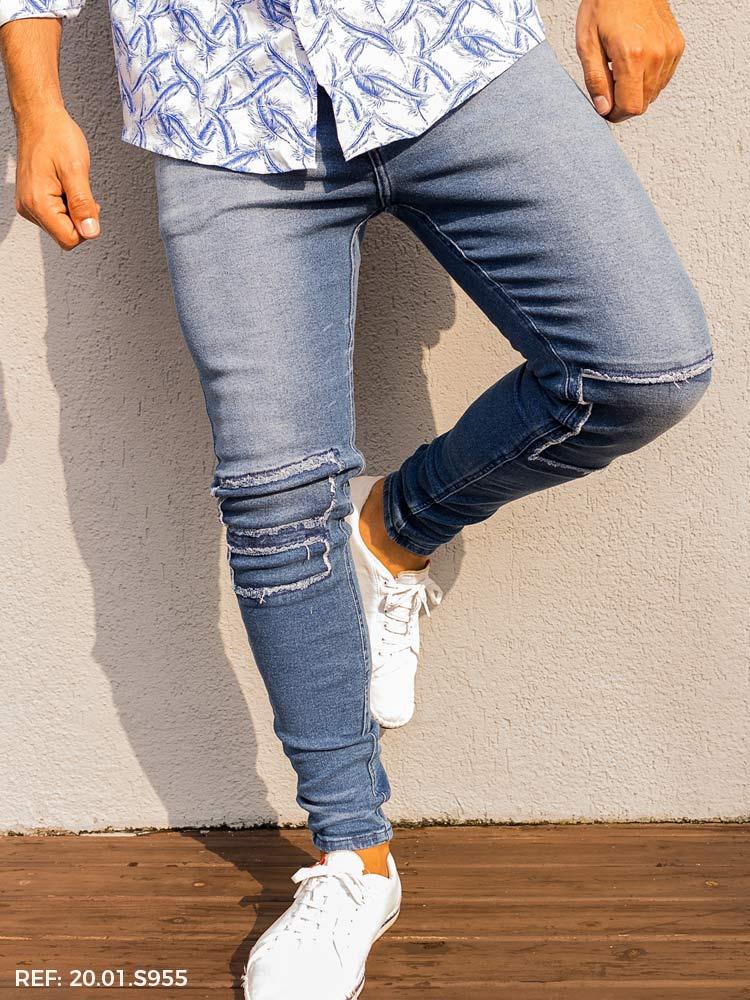 Calça masculina junior