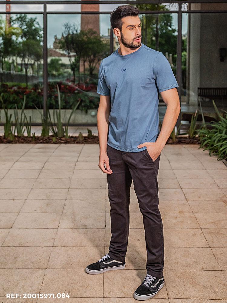 Calça masculina sport fino