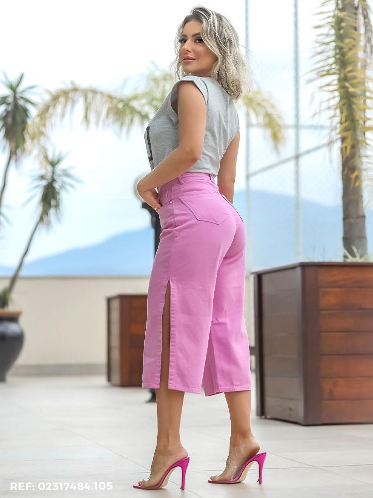 Capri Feminina Wide