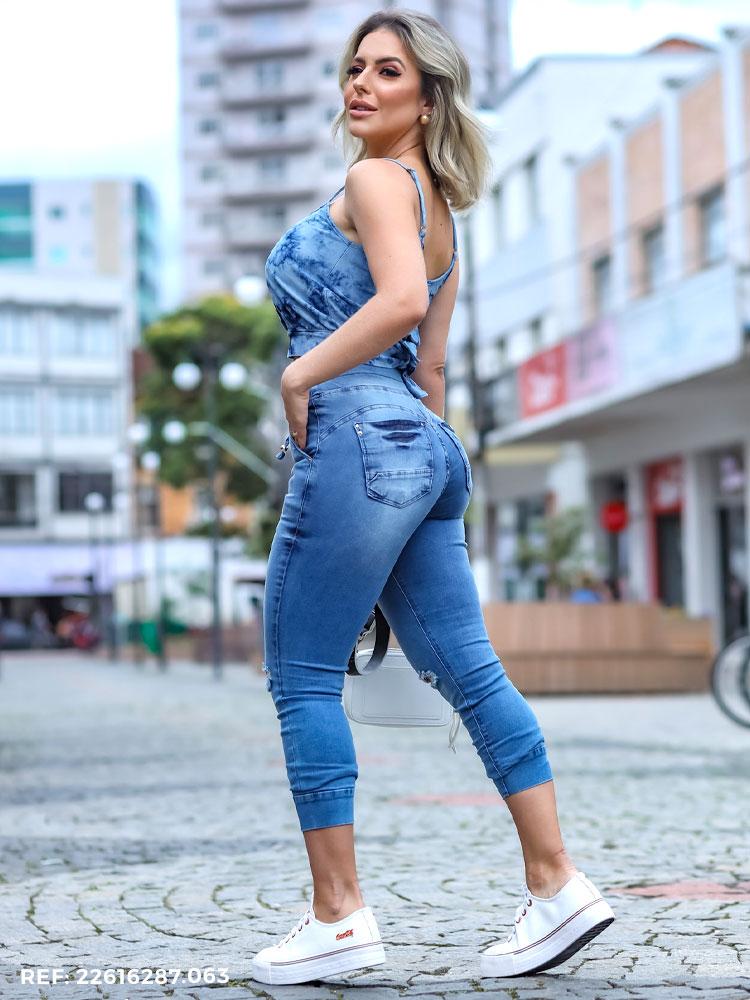 Cropped Feminina Jogging