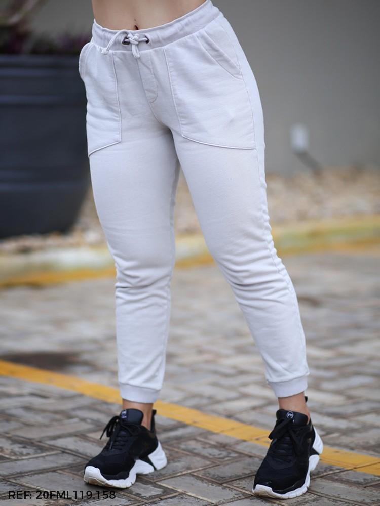 Cropped Feminina Jogging Moletom