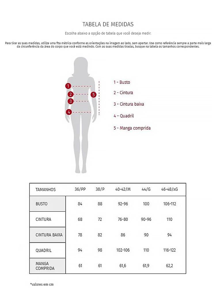 Cropped feminina jogging utilitaria