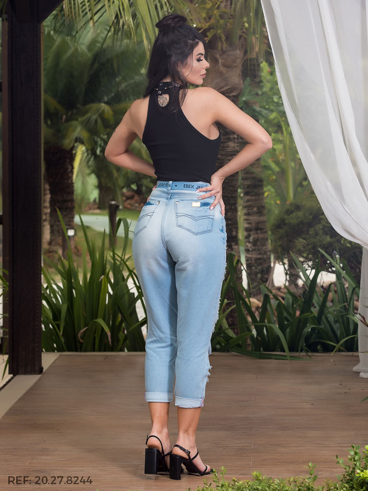 Cropped feminina Slouchy total confort