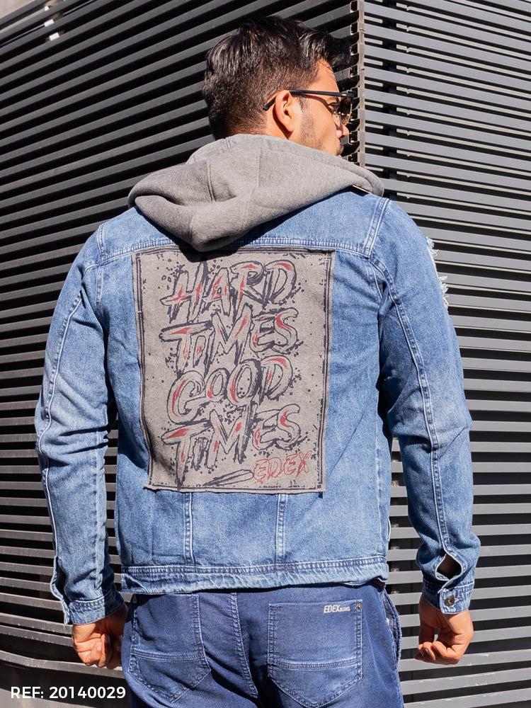Jaqueta masculina street