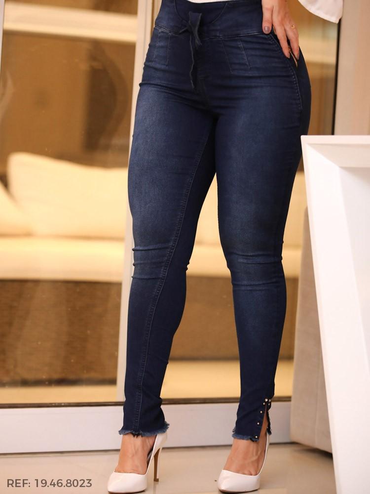 Legging feminina cinto