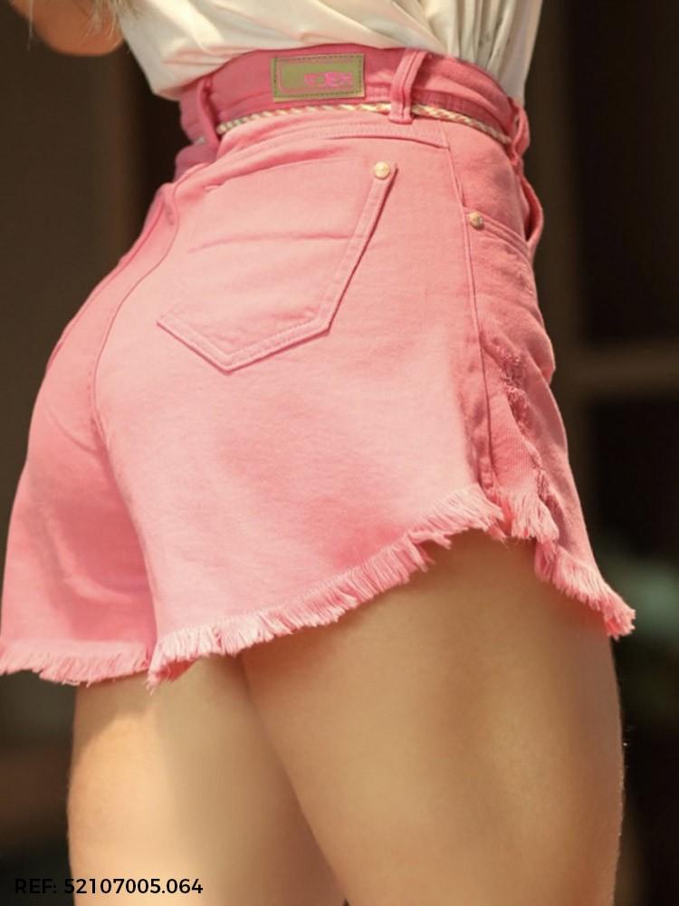 Shorts feminino babaloo cinto