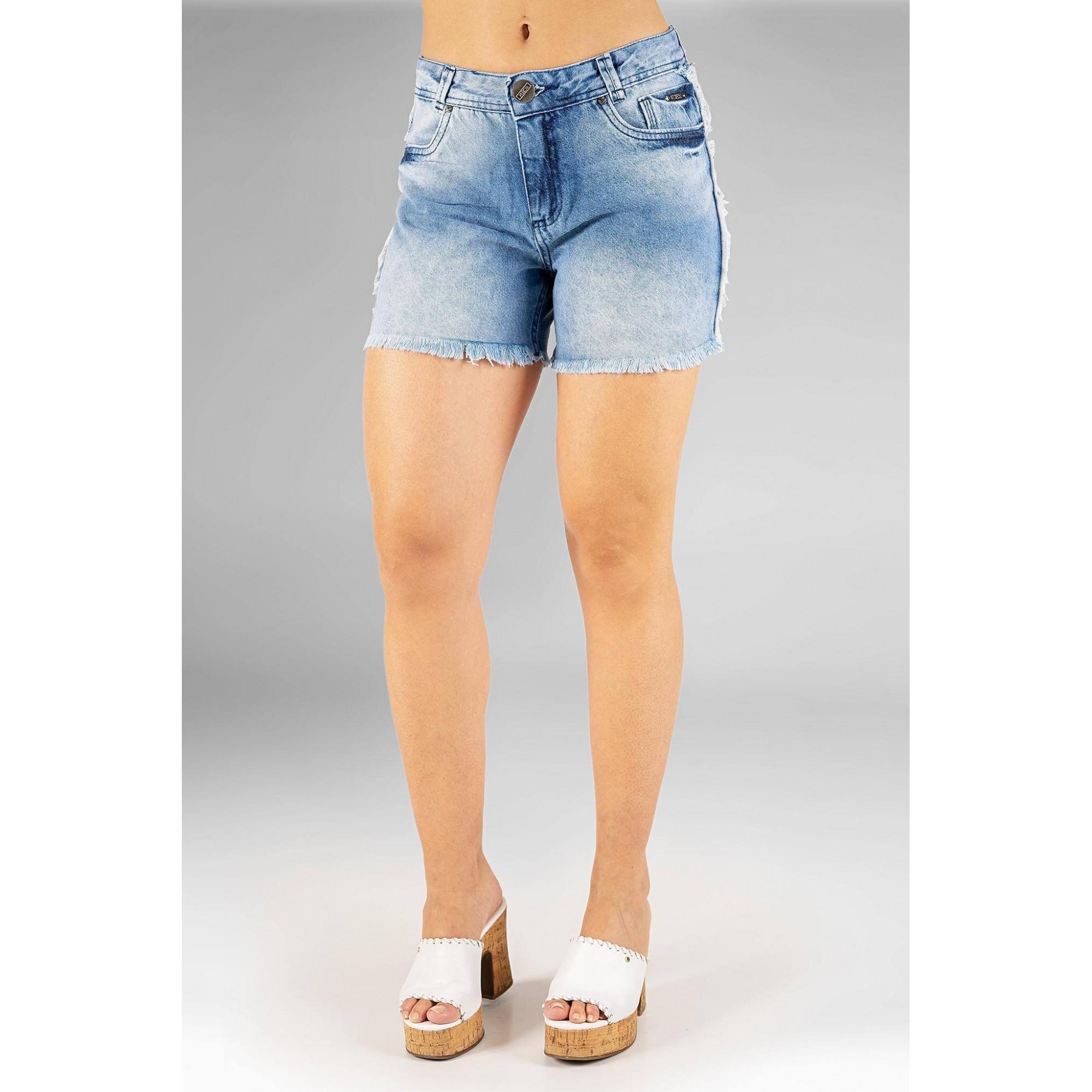 Shorts feminino hot pant