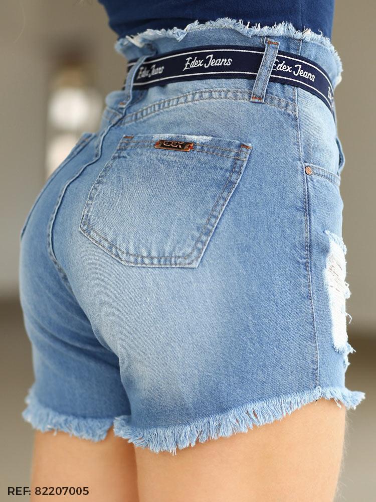 Shorts feminino juliana cinto