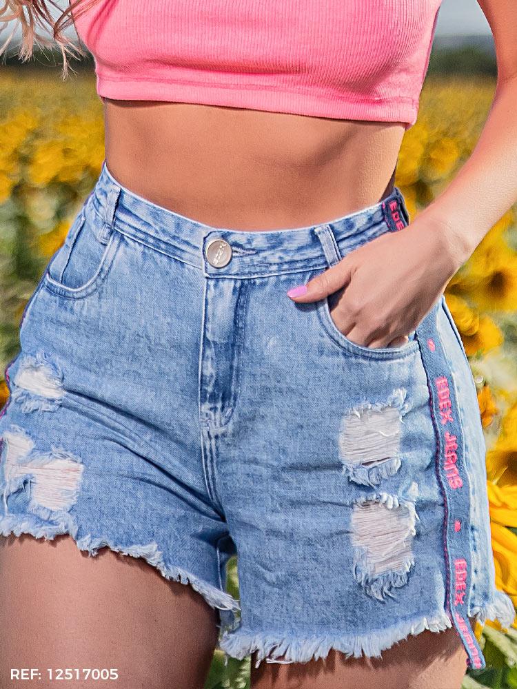 Shorts feminino slouchy