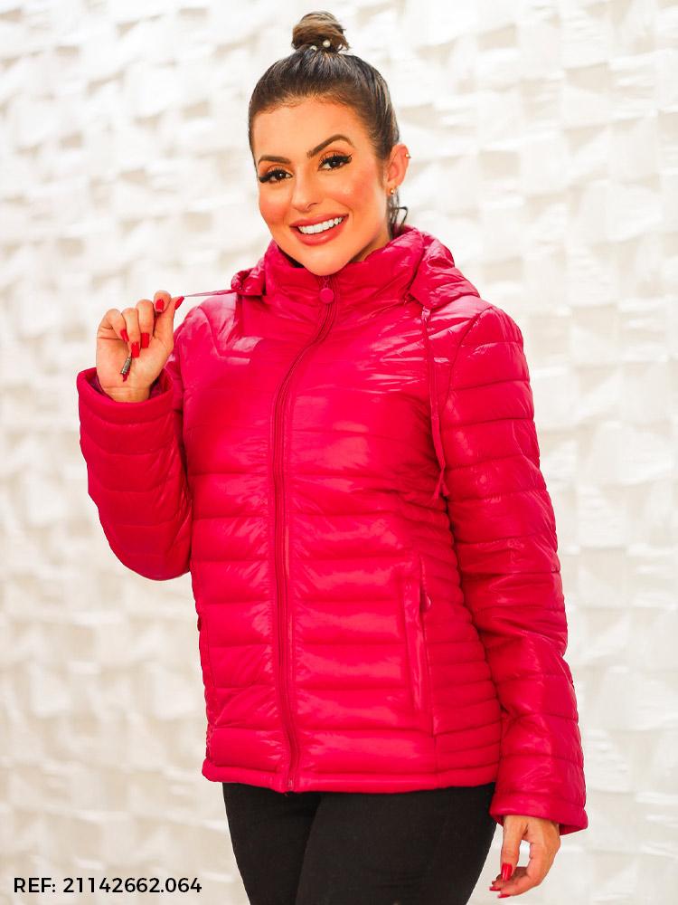 T. jaqueta feminina nylon