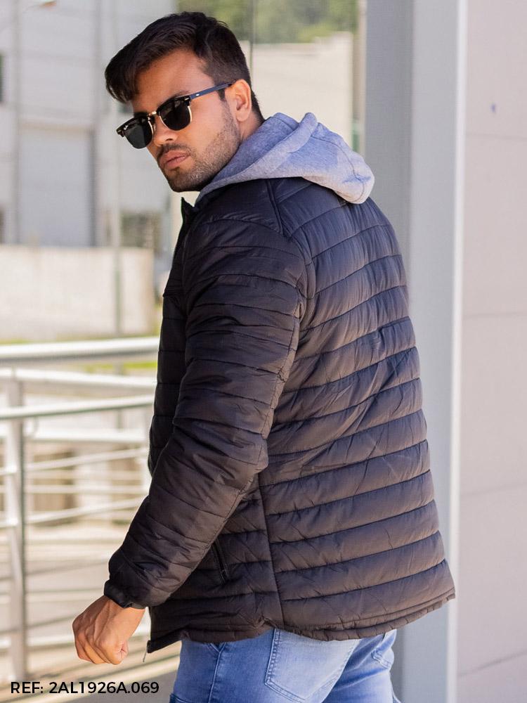 T. jaqueta masculina nylon