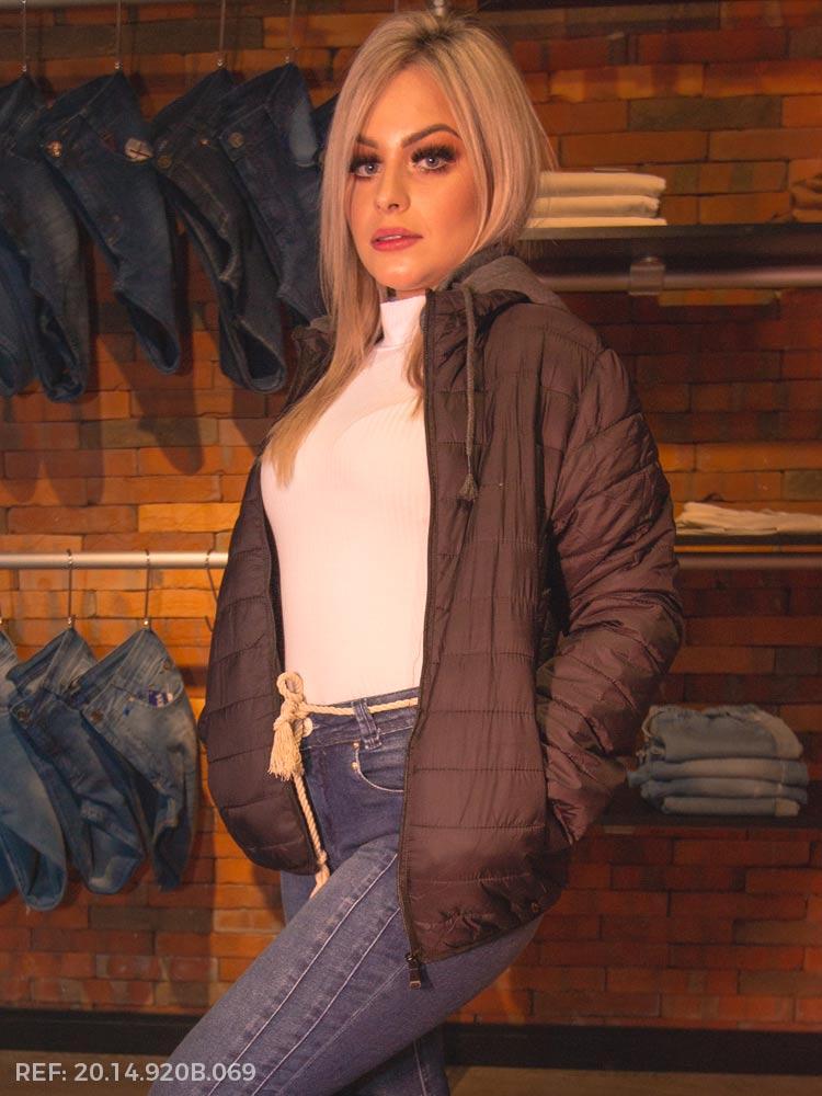 Terc. jaqueta feminina nylon