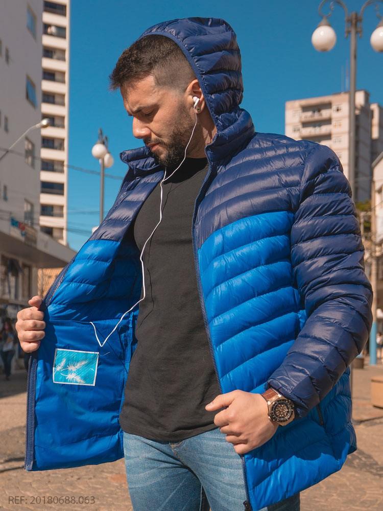 Terc. jaqueta masculina nylon