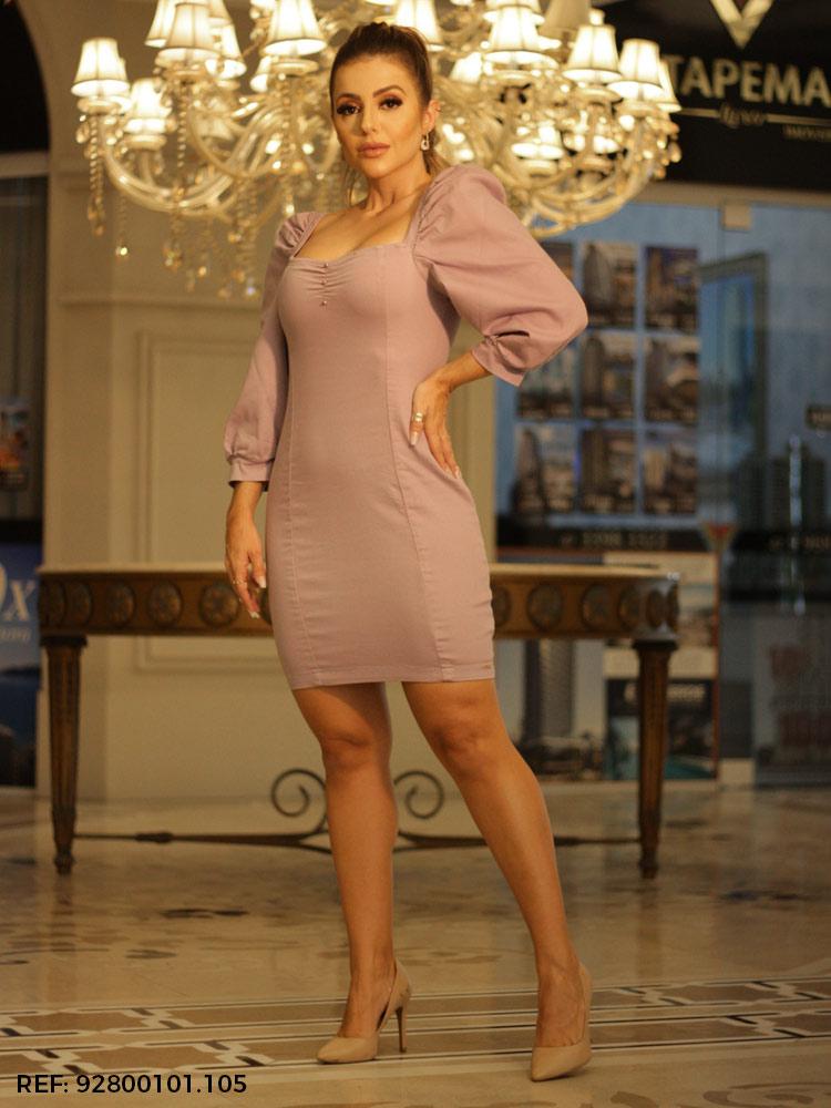 Vestido feminino princess ametista