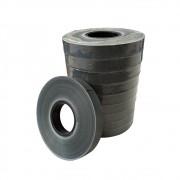 7 Caixas De Grampo 6/4 + 150 Rolo De Fita Plastica para Alceador
