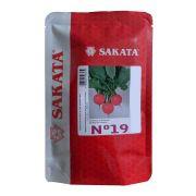 Sementes De Rabanete Nº 19 - 100 Gramas - Sakata