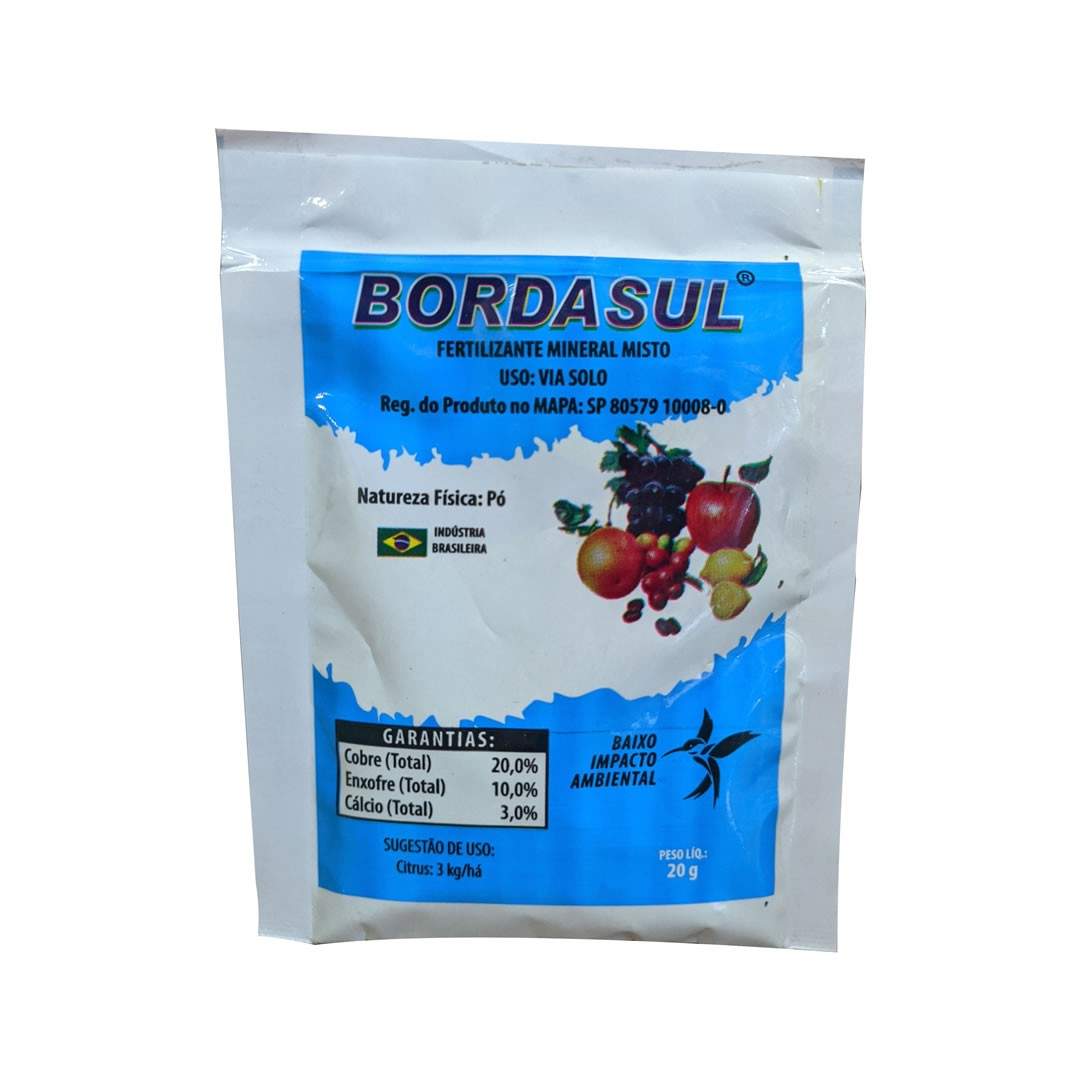 Bordasul - Calda Bordalesa - 5 sachês de 20 gramas