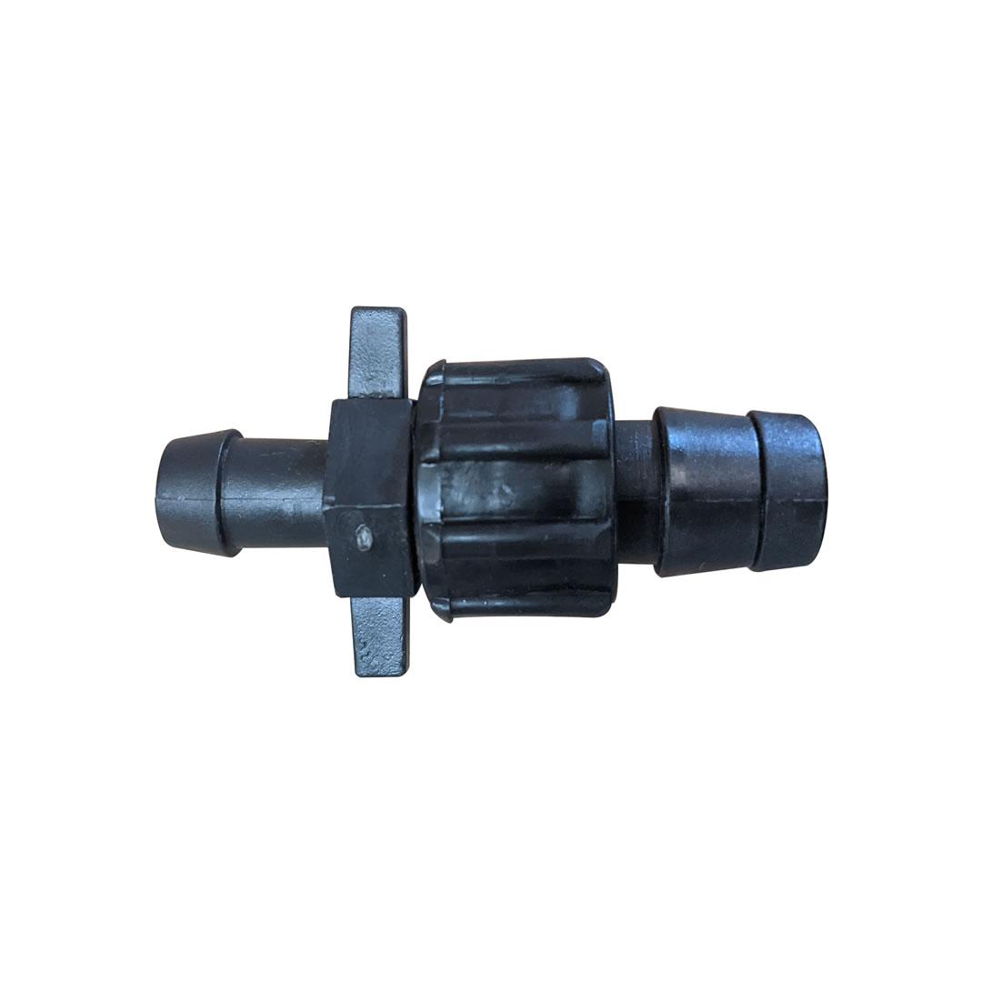 Conector inicial para fita gotejadora + anel de vedação - 25 unidades
