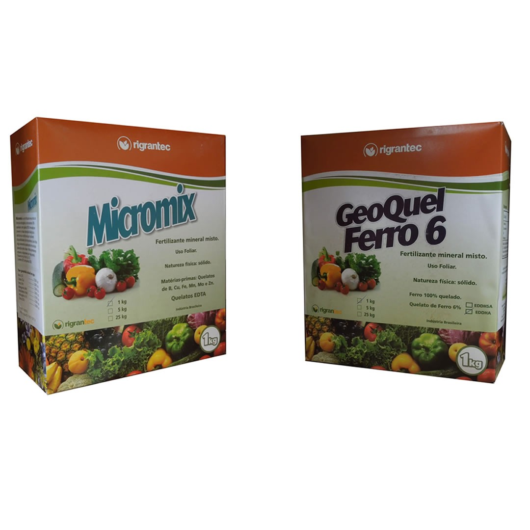 Ferro + Micronutrientes para hidroponia