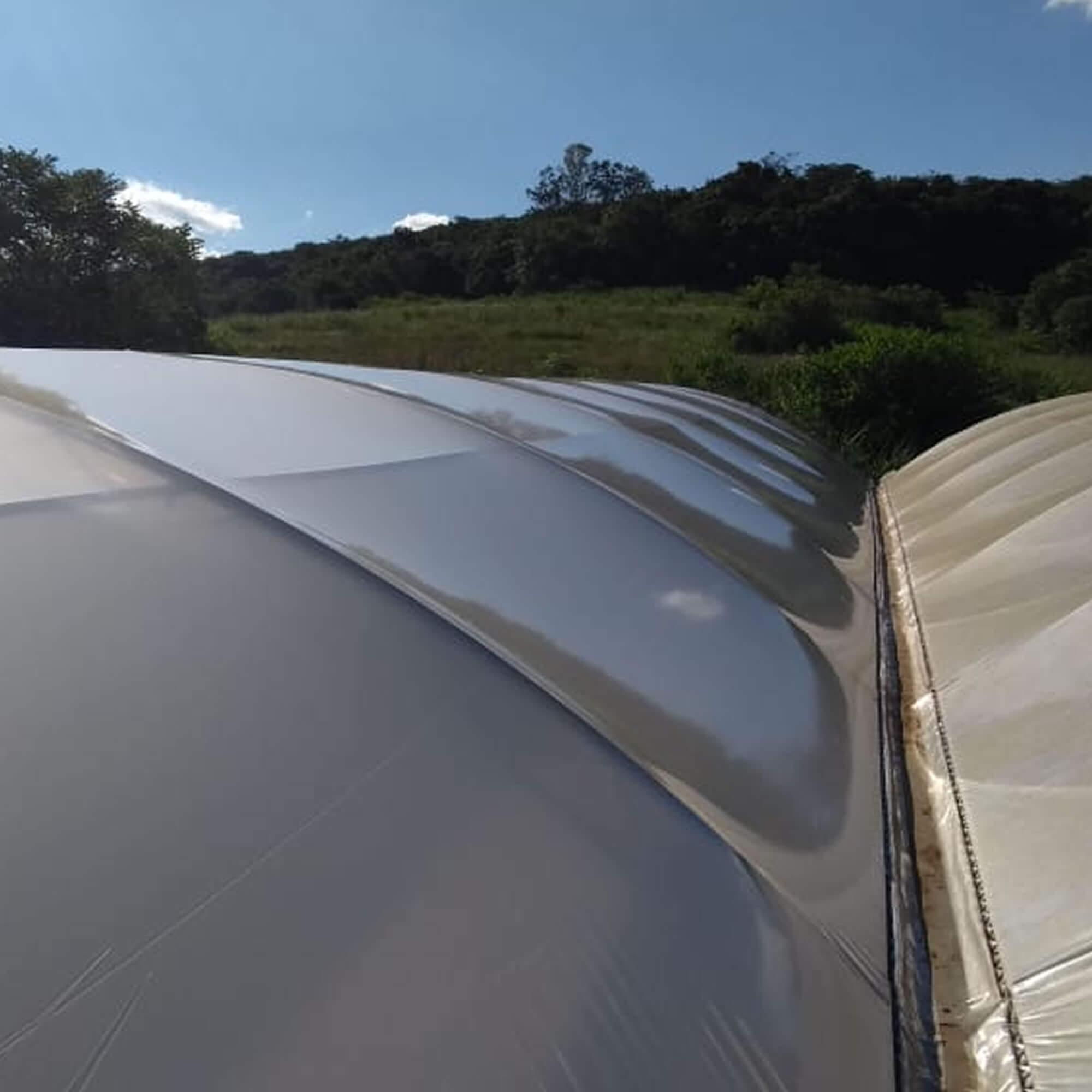 Filme Plástico Difusor para Estufa - 4x100 metros - 100 micras - Politiv