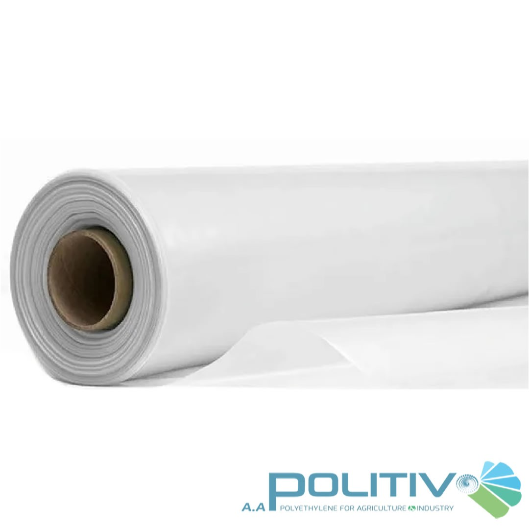 Filme Plástico Difusor para Estufa - 4x55 metros - 100 micras - Politiv
