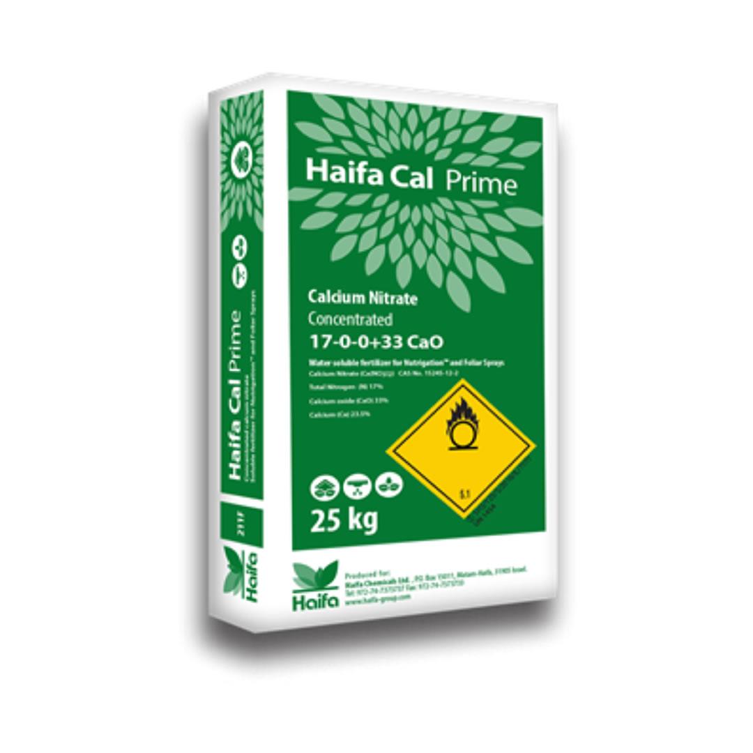 Haifa Cal Prime - Nitrato de Cálcio Concentrado - 25KG