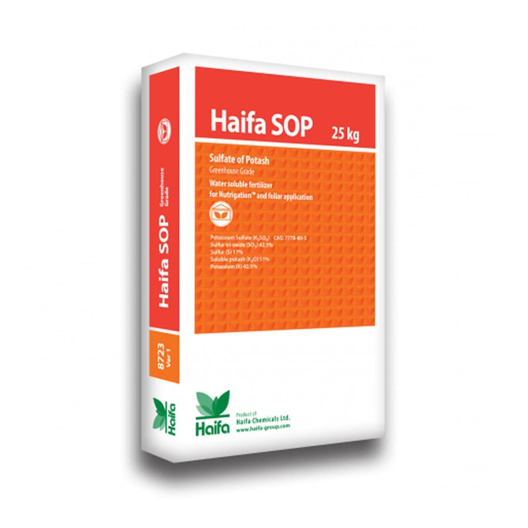 Haifa SOP Sulfato de Potássio - 25 KG