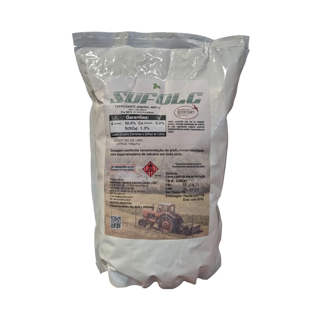 Kit - Calda Bordalesa + Calda Sulfocálcica Pct 1 Kg