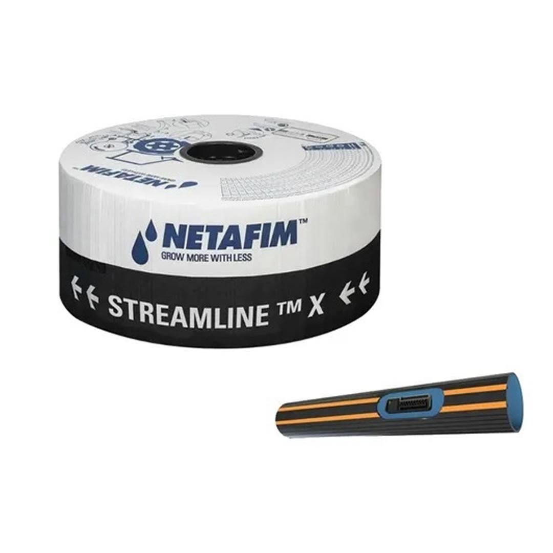 Mangueira De Gotejamento Streamline X Netafim 20-20 cm - 1.000 metros