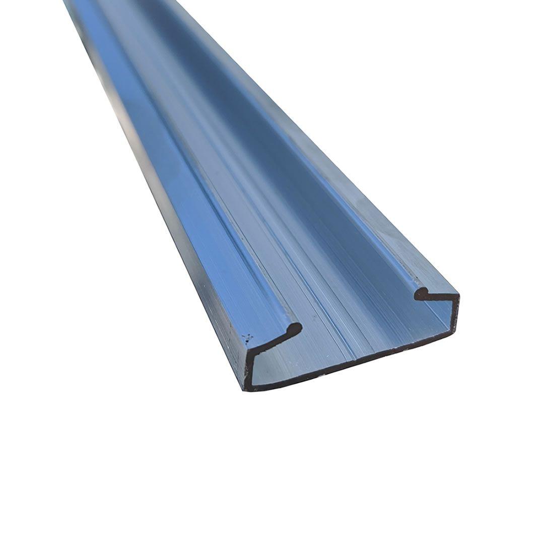 Perfil de Alumínio para Fixação de Filmes e Telas - 3 metros