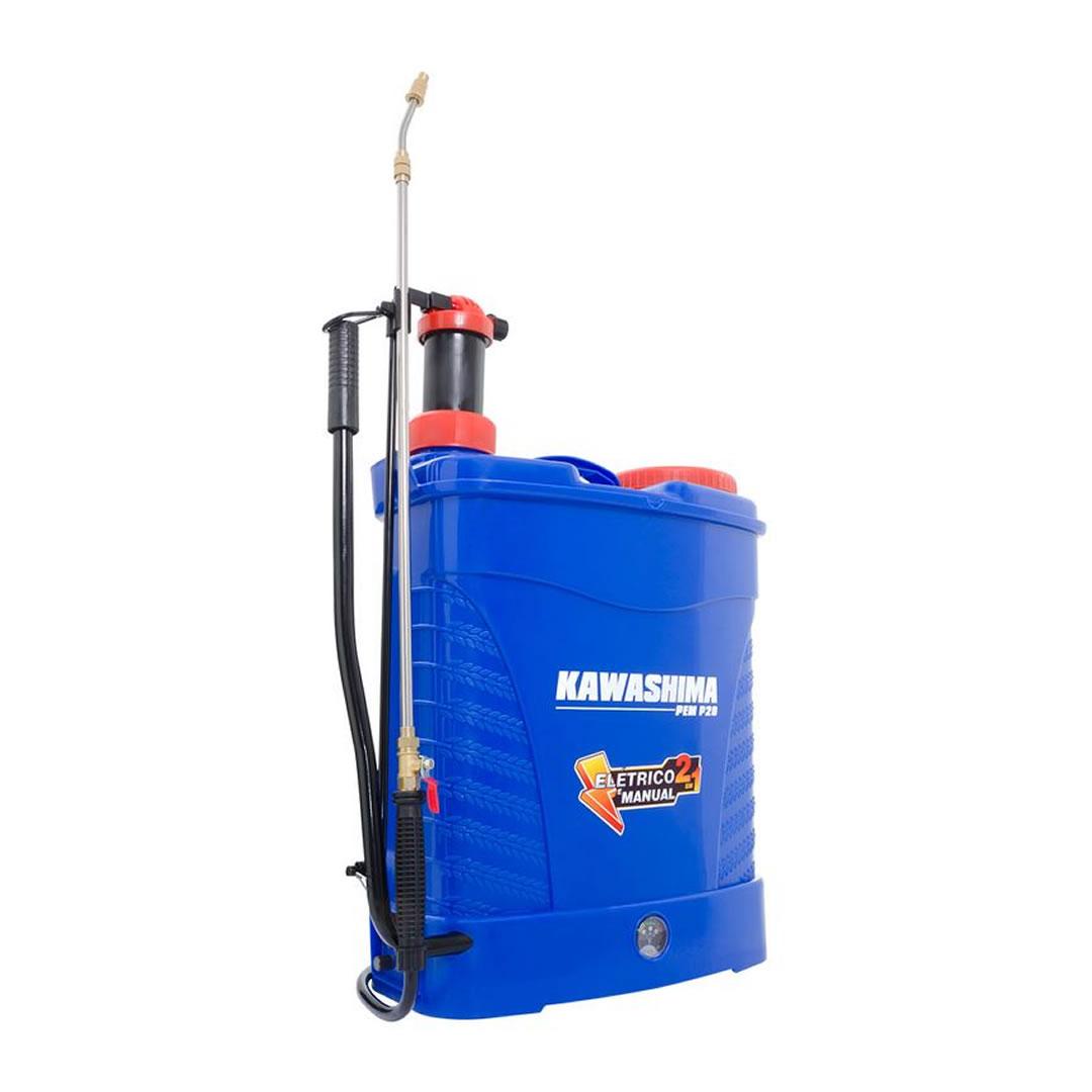 Pulverizador Costal Elétrico Kawashima - 20 litros