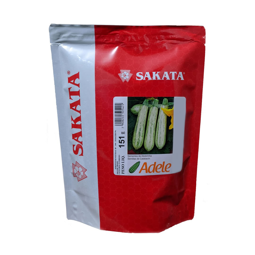 Sementes de Abobrinha Adele - 1.000 sementes - Sakata