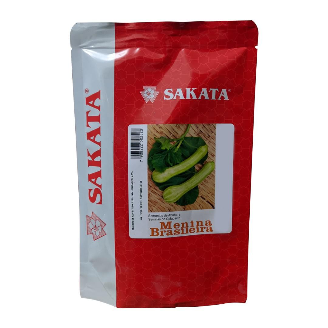 Sementes De Abobrinha Menina Brasileira - 250 gramas - Sakata