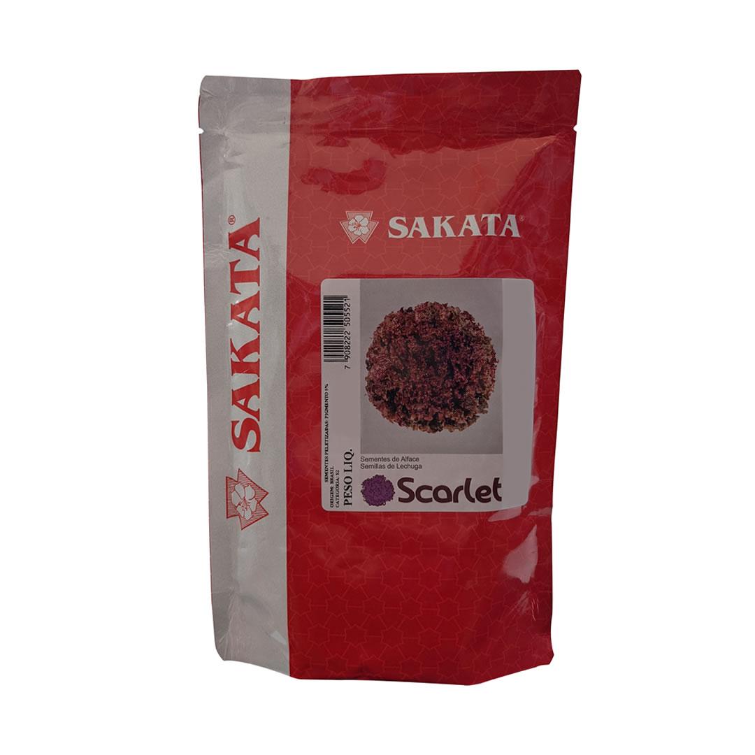 Sementes De Alface Scarlet - 7.500 Sementes - Sakata