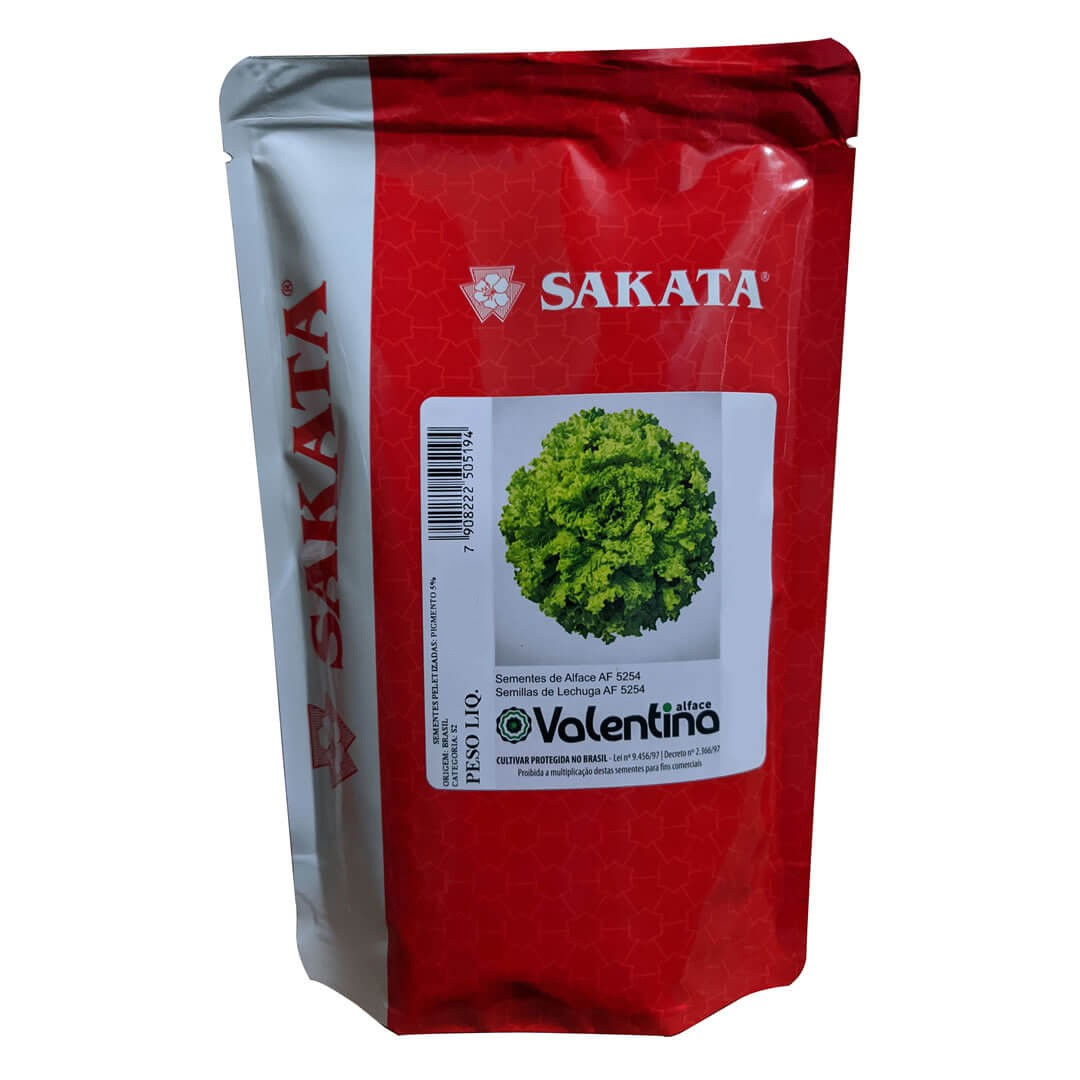 Sementes De Alface Valentina - 25.000 sementes - Sakata