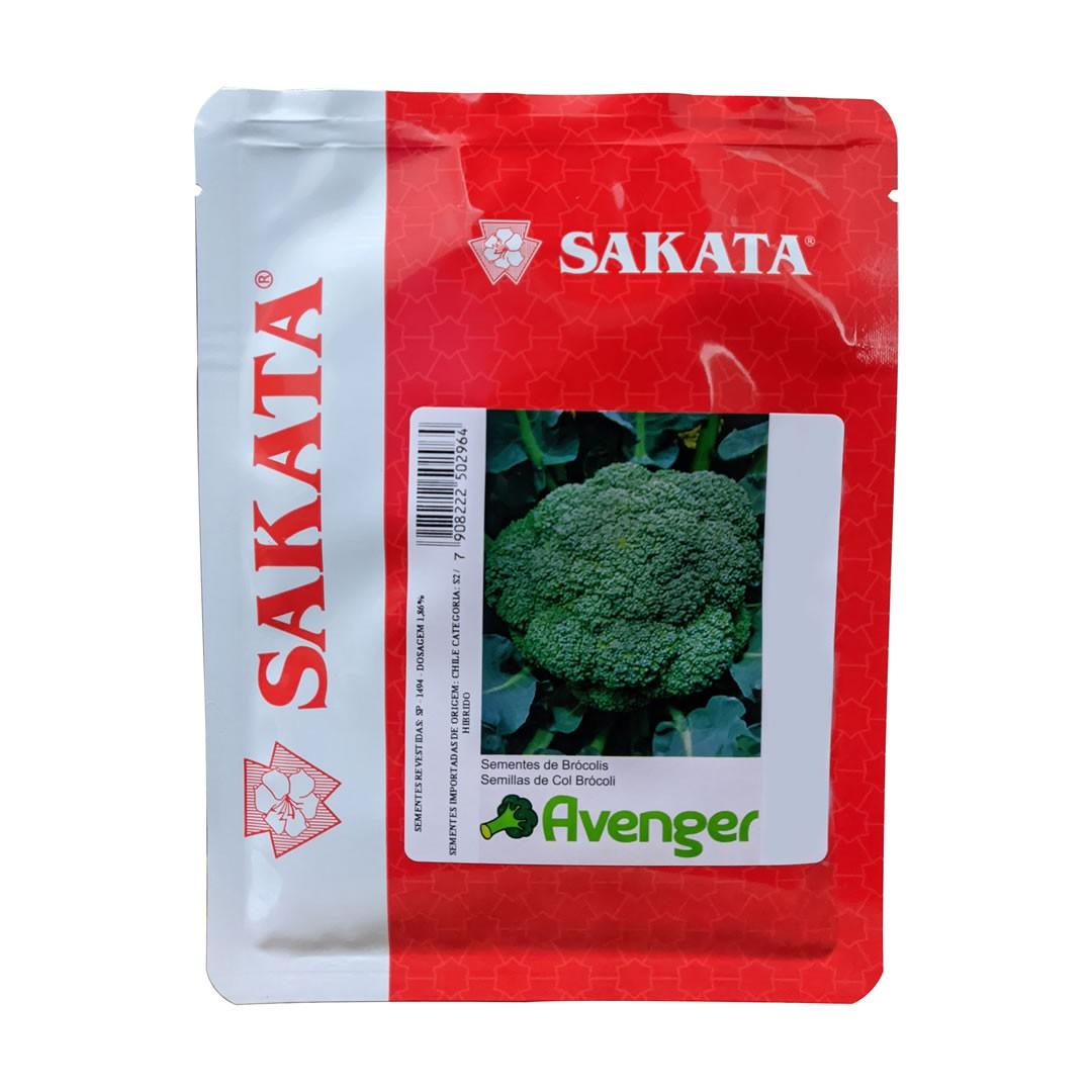 Sementes De Brócolis Avenger - 2.000 Sementes - Sakata