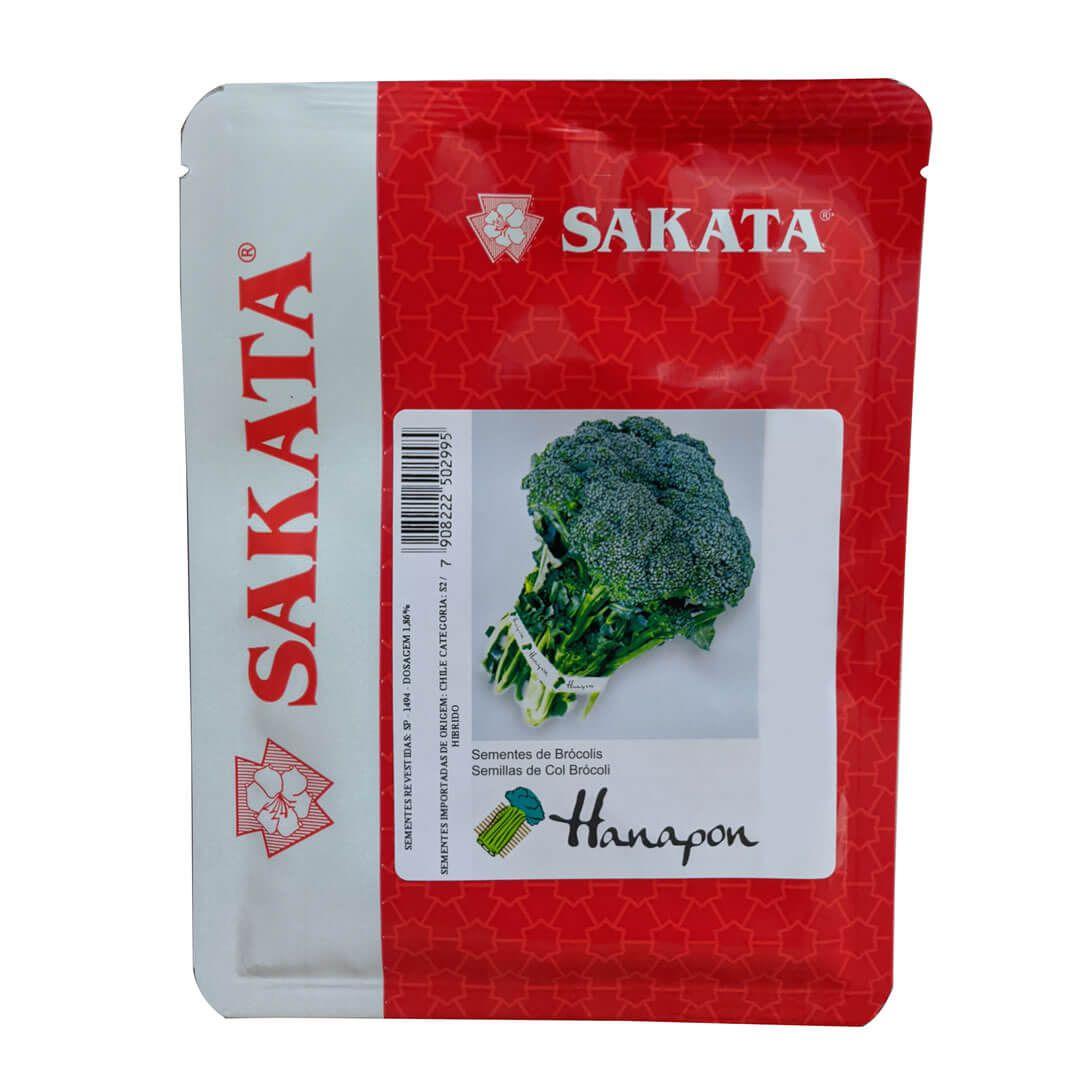 Sementes De Brócolis Hanapon - 2.000 Sementes - Sakata