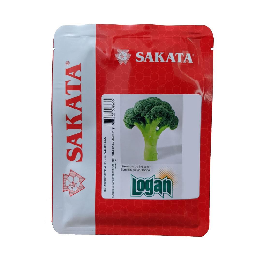 Sementes De Brócolis Logan - 2.000 Sementes - Sakata