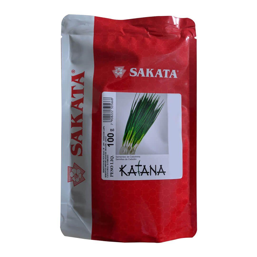 Sementes De Cebolinha Katana - 100 Gramas - Sakata