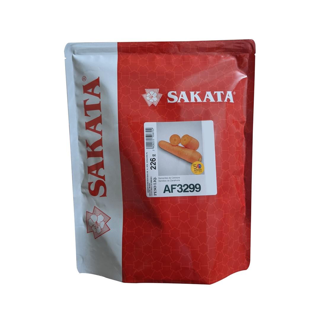 Sementes De Cenoura AF3299 - 100.000 Sementes - Sakata