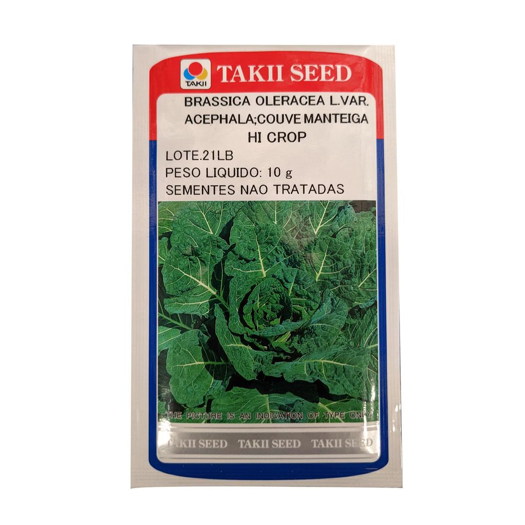 Sementes de Couve Manteiga Hi-Crop - 10 gramas - Takii