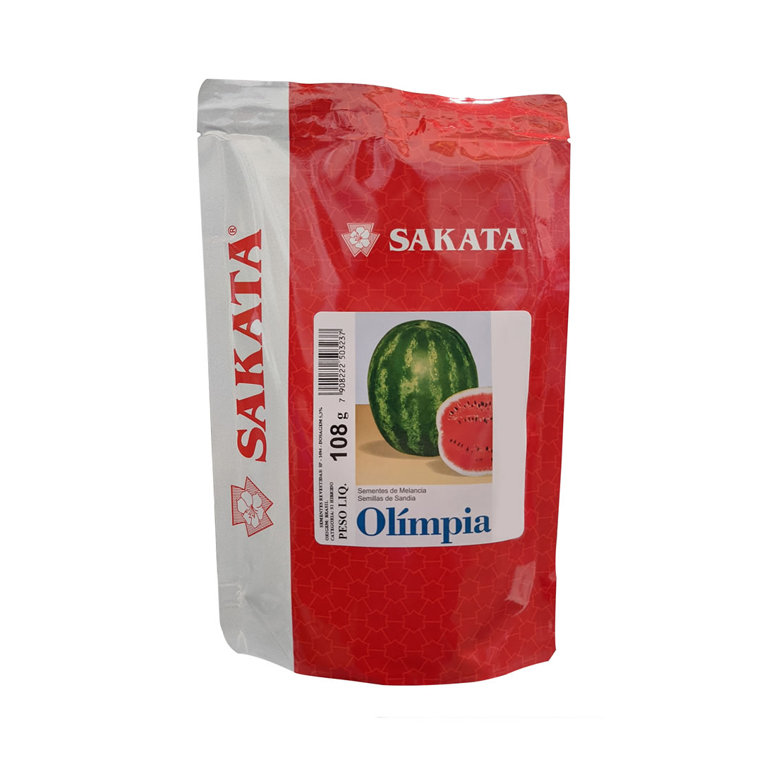 Sementes de Melancia Híbrida Olímpia 1.000 sementes - Sakata