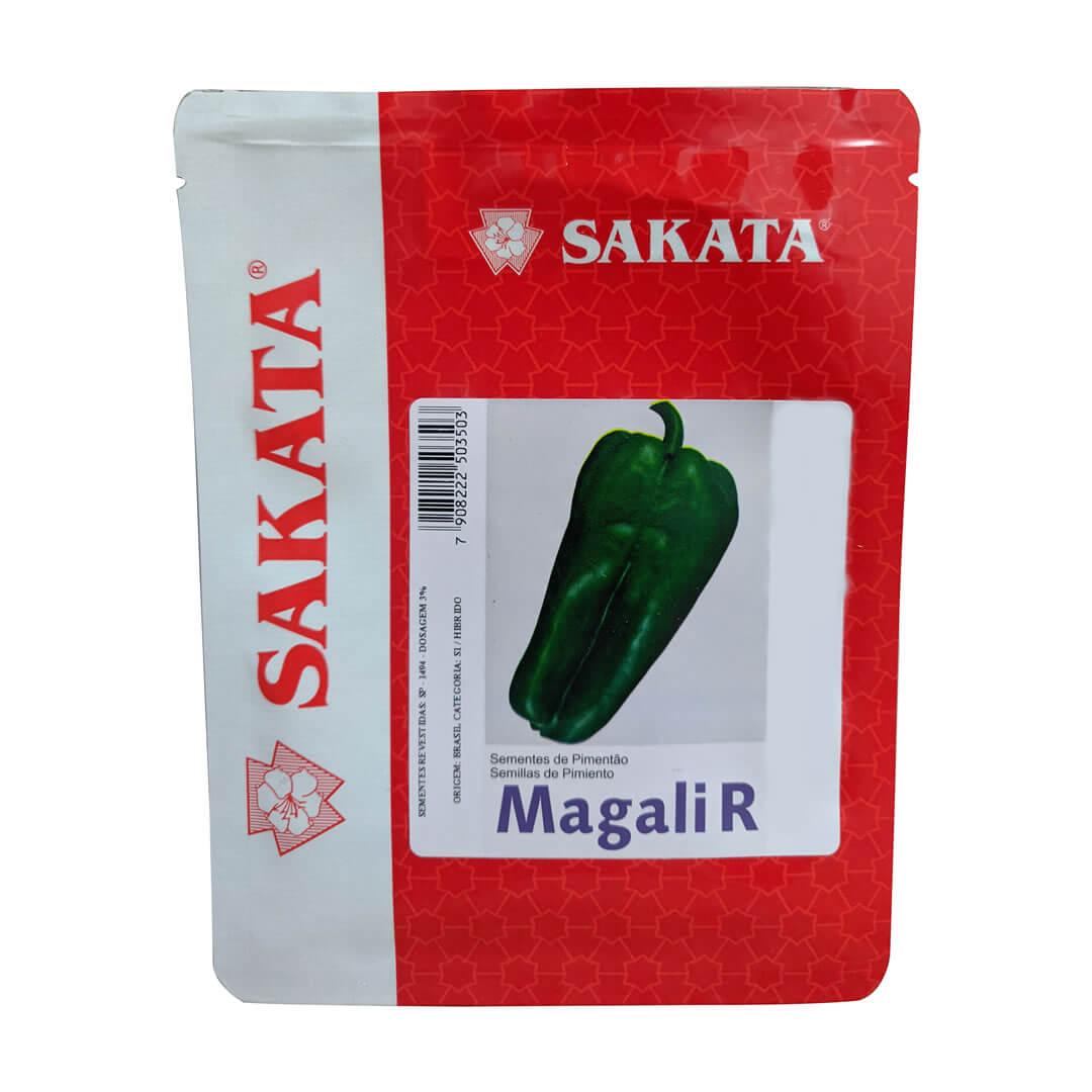 Sementes De Pimentão Magali R - 5.000 Sementes - Sakata