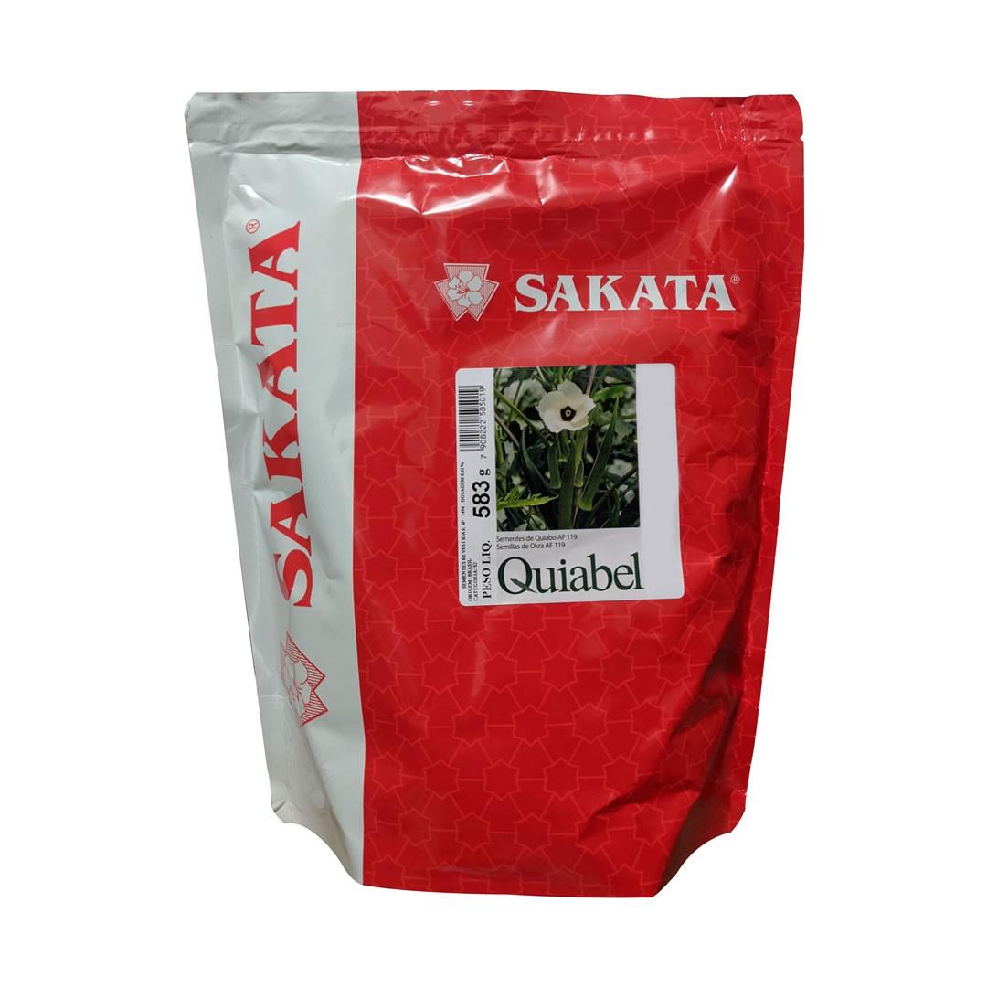 Sementes De Quiabo Quiabel - 10.000 Sementes - Sakata