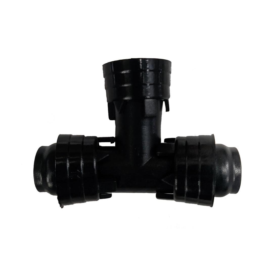 Te 16 mm para tubo PELBD - 20 unidades
