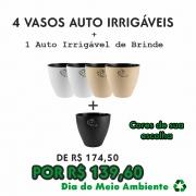 4 AUTO IRRIGÁVEIS   BRINDE 1 AUTO IRRIGÁVEIL FOSCO/ACETINADO - PROMOÇÃO DIA DO MEIO AMBIENTE 2021
