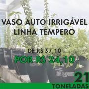 VASO AUTO IRRIGAVEL LINHA TEMPERO PROMOÇÃO 21 TONELADAS