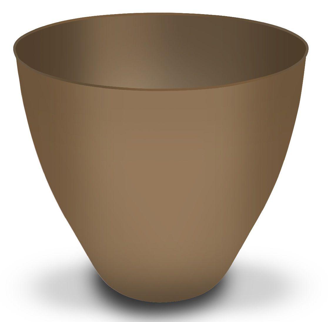 Cachepô Plantiê - Acetinado Dourado